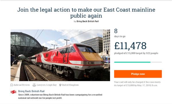 Pledge to help us make East Coast public