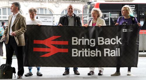 Bring Back British Rail (photo: Robin Prime)